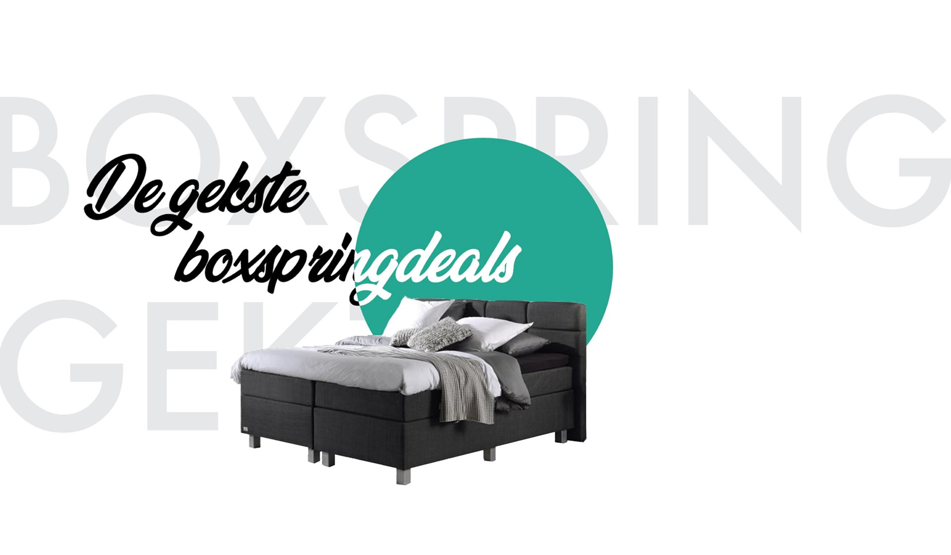Boxspring banner home